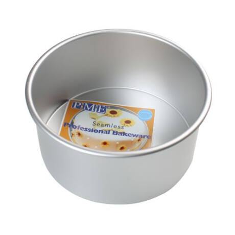 PME extra mély fém kerek tortaforma (O20cm, mélység 10cm)
