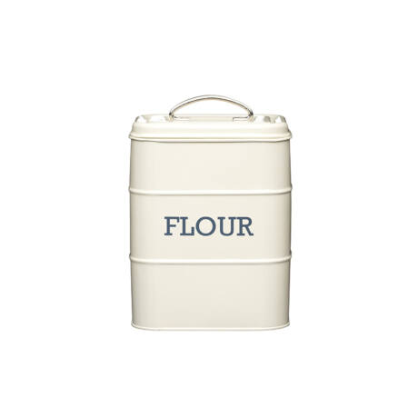 Nostalgia fém tároló doboz Flour krém