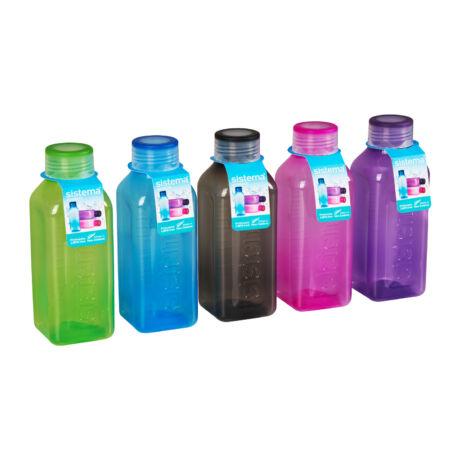 Hydrate műanyag szögletes kulacs (475ml)