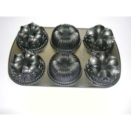 Kuglóf sütőforma 6 lyukkal