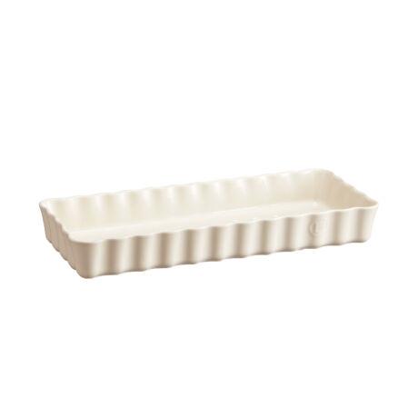 Emile Henry keskeny négyszögletes tart kerámia sütőforma argile EH026034