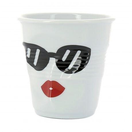 Revol porcelán cappuccino csésze (fehér Madame Glam) 649921