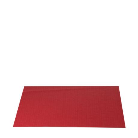 műanyag tányéralátét (piros)