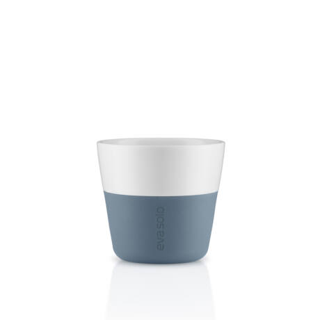 Eva solo Lungo porcelán bögre 2 db steel blue  (501068)