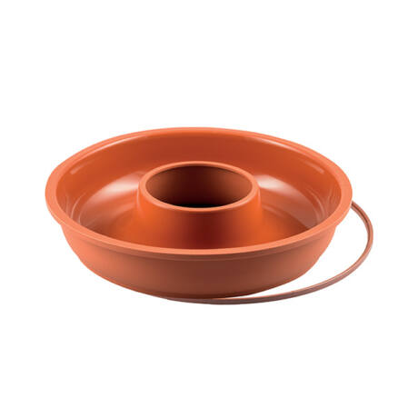 Ciambellone szilikon koszorú sütőforma (24cm/1500ml) SFT205